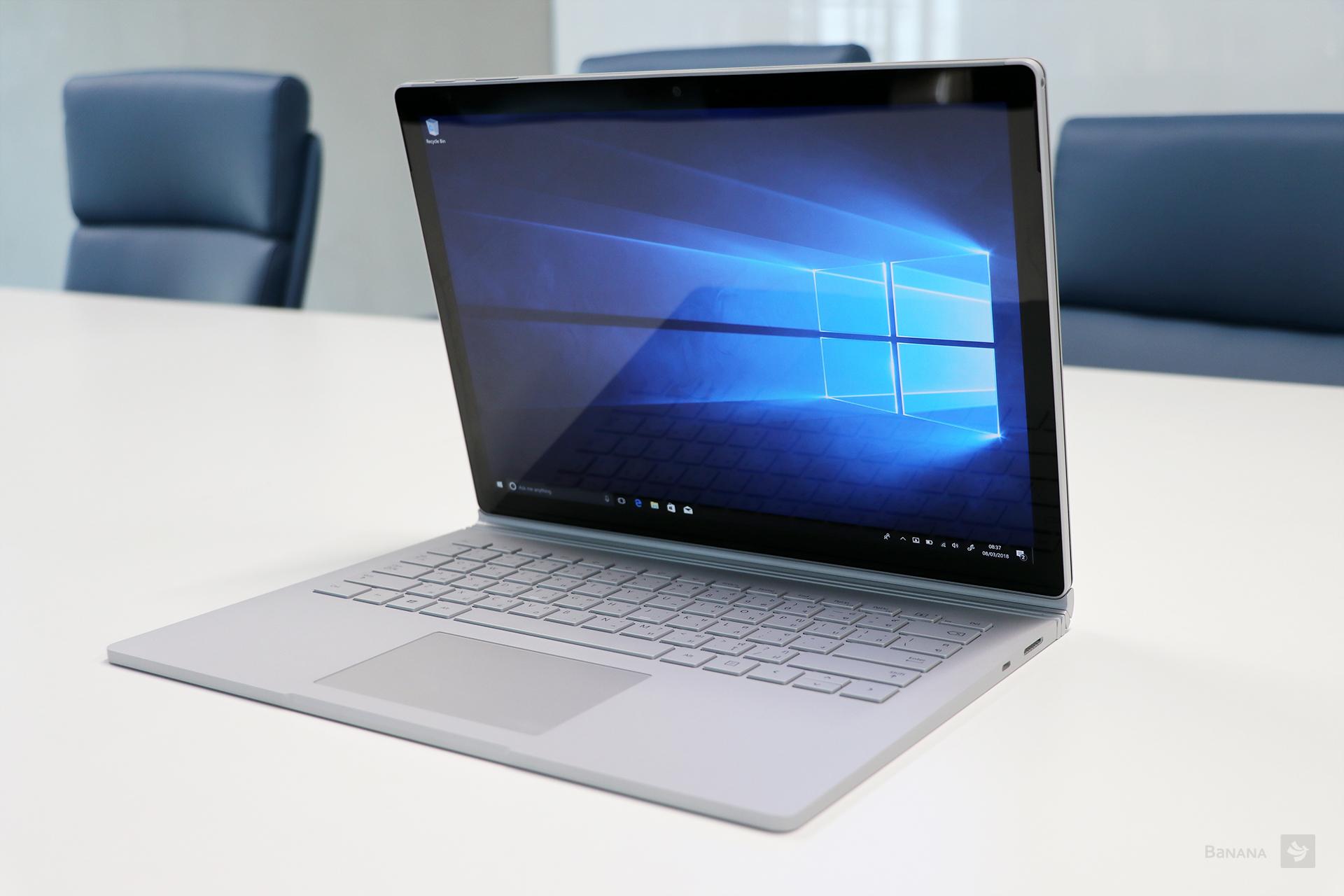 รีวิว Microsoft Surface Book 2 ประสิทธิภาพสูง มาพร้อมดีไซน์