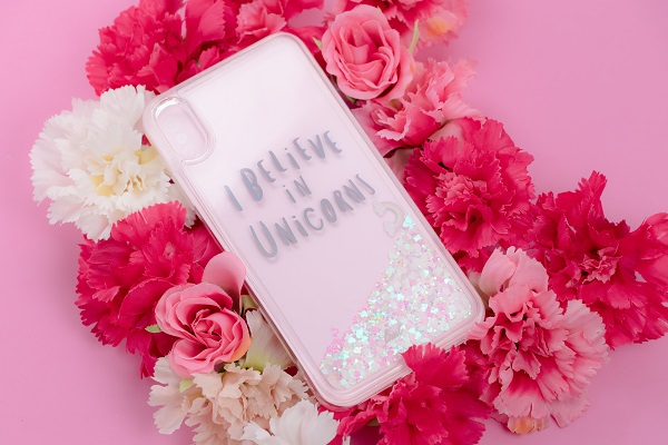 LAUT Casing for iPhone XS Max Liquid Glitter Unicorn