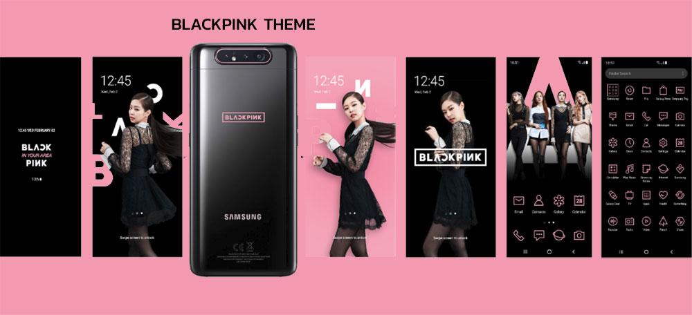 ผลการค้นหารูปภาพสำหรับ Galaxy A80 Blackpink Edition