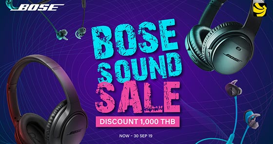 Promotion Bose Sep 19