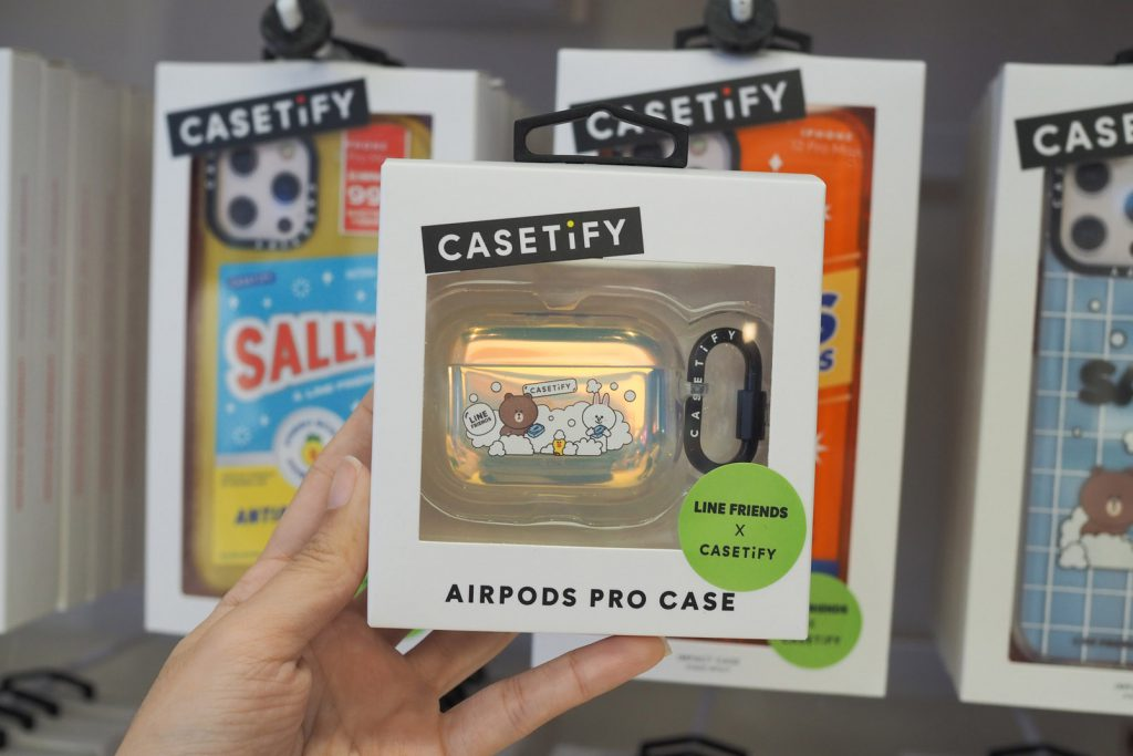 LINE FRIENDS X CASETiFY Special Edition only at Bb BEYOND D-Box - AirPods Case