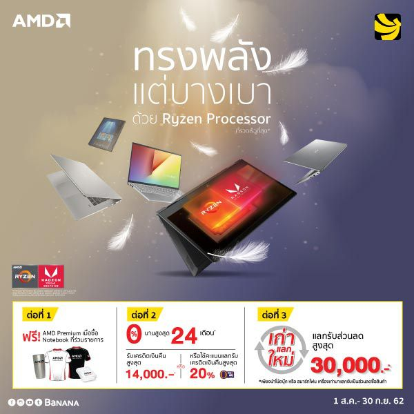 Promotion AMD 1 Aug - 30 Sep 19